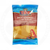 Madras curry pwd hot 100g -...