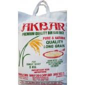 Long grain rice 5kg - Akbar