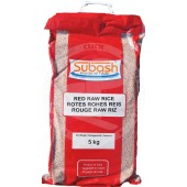 Red RAW rice 5kg - SUBASH