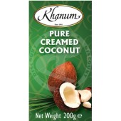 Coconut creamed 200g - KHANUM