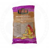 Brown lentils 500g