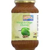 Mango & ginger chutney 340g...
