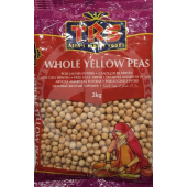 Yellow peas whole 2kg - TRS
