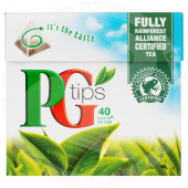 Black tea 40bags - PG TIPS