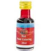 Food color red (liquid)...