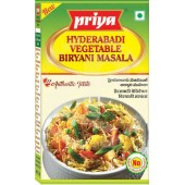 Vegetable biryani mas. hyd....