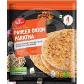 Paneer Onion paratha 4pces...