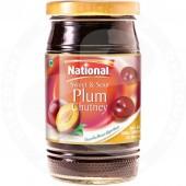 Plum chutney 390g - NATIONAL
