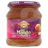 Mango chutney hot 340g -...