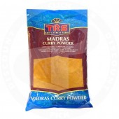 Madras curry pwd hot 400g -...