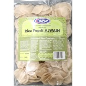 Rice papdi ajwain 200g - TOPOP