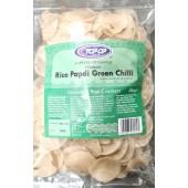 Papdi rice green chilli...