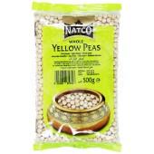 Yellow peas whole 500g - NATCO