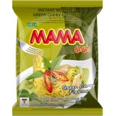 Instant noodles green curry...