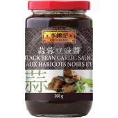 Sauce black beans garlic...