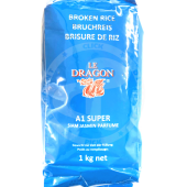 Broken rice 1kg - LE DRAGON