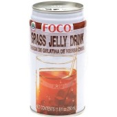 Grass jelly (25%) 350ml - FOCO