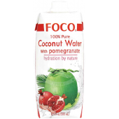 Coconut water with lychee...