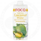 Coconut water with ananas...