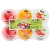 Pudding fruit assorted...