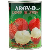 Lychees in syrup 565g - AROY-D