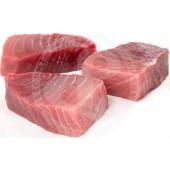 Fish tuna yellow fin steaks...