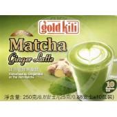 Instant ginger MATCHA latte...