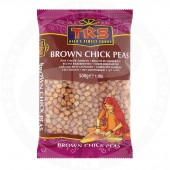 Chick peas brown 500g - TRS