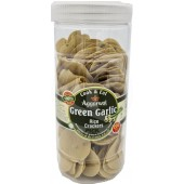 Rice crackers green garlic...
