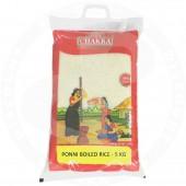 Ponni boiled rice 5kg - CHAKRA