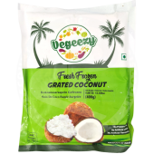 Coconut grated 400g - VEGEEZY